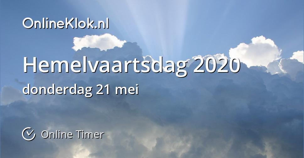 Hemelvaart 2020
