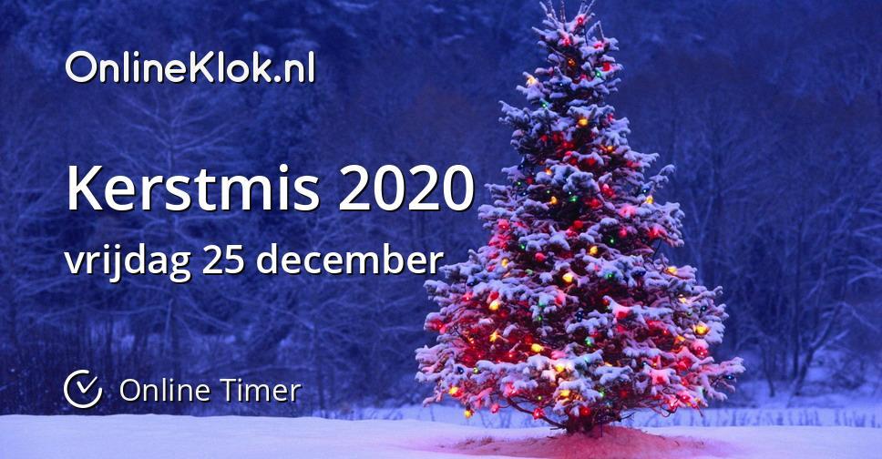 hoeveel dagen tot kerst 2020 Kerstmis 2020   Online Timer   OnlineKlok.nl