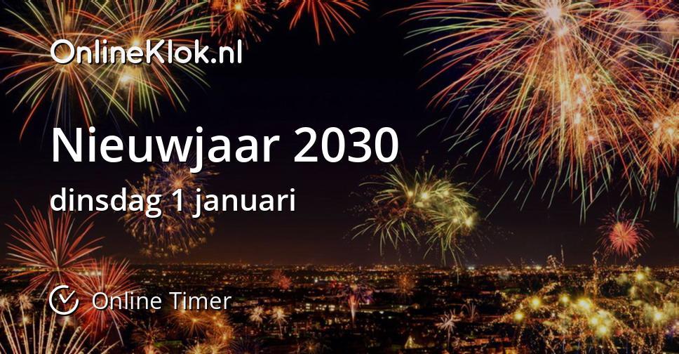 Nieuwjaar 2030
